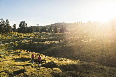 Unterwegs im Almengebiet über der Grießbachklamm, © Sportalpen