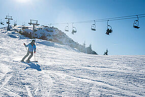 Skifahren Kaiserwinkl, © Tourismusverband Kaiserwinkl