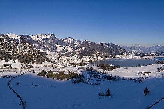 Winterlandschaft Kaiserwinkl - Walchsee, © Tourismusverband Kaiserwinkl