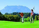 Golfen in traumhafter Kulisse