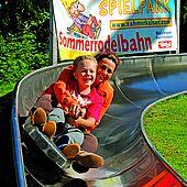 Summer toboggan run, Zahmer Kaiser