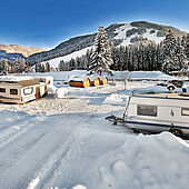 Eurocamp Wilder Kaiser im Winter