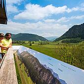 Panoramablick: Kaiserwinkl in Tirol