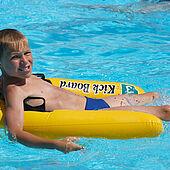 Children's fun in the pool