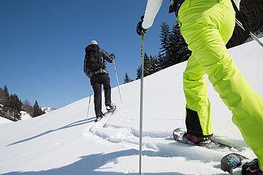 Schneeschuhwandern Kaiserwinkl, © Tourismusverband Kaiserwinkl