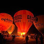 Night ballooning Kaiserwinkl