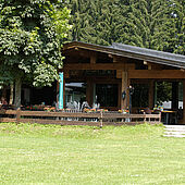 Schaduwrijk terras Campino