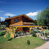 Sommertag im Campino in Kössen