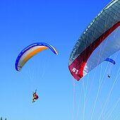Paragliding in the Tiroler Kaiserwinkl