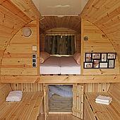 Campingfass von innen