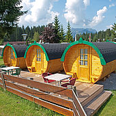 Campingfässer Wilder Kaiser Kössen