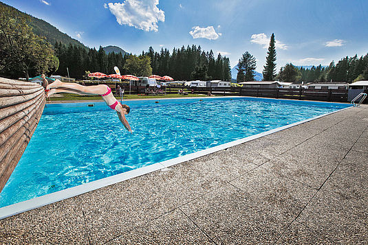 Pool Eurocamp Wilder Kaiser