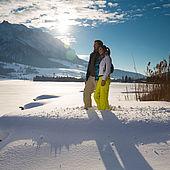Traumhafte Winterlandschaft in Kössen