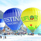 Ballonstart im Tiroler Kaiserwinkl