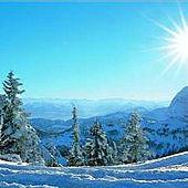 Traumhafter Wintertag im Kaiserwinkl