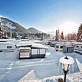 Snow pleasure in Eurocamp Wilder Kaiser