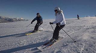 Skifahren in Kössen, (c) Bernhard Bergmann, Bildquelle - Tourismusverband Kaiserwinkl