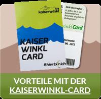 Vorteile Kaiserwinkl Card