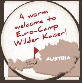 Lage Eurocamp Wilder Kaiser